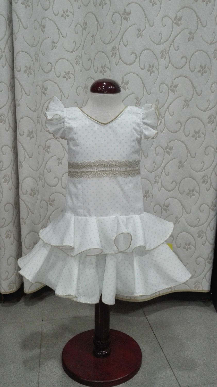 813164ca1 Traje flamenca niña Mod. Dulce